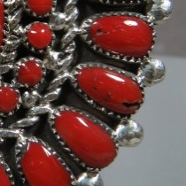 Coral Ring by Lorraine Waatsa