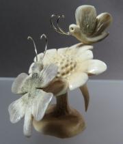 Butterflies on Flower by Ruben Najera