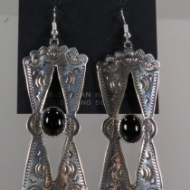 Dangle Earrings by Tawney Willie and Alan Cruz
