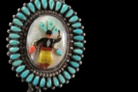 Apache Dancer Bolo & Buckle Set by John B. Hawley