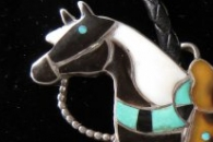 Horse bolo by Rosalie Pinto