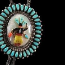 Apache Dancer Bolo & Buckle Set by John B. Hawley
