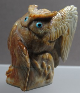 HUDSON SANDY PICASSO MARBLE OWL